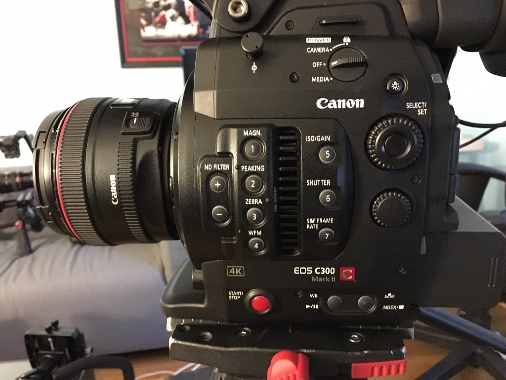 Canon C300 Mark II camera for ASL