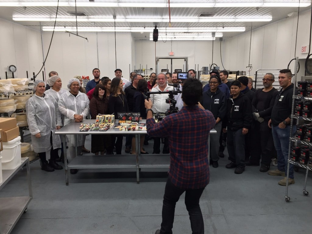 Anderson Foods production crew Behind the scenes