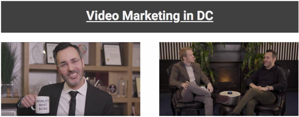 DC video marketing