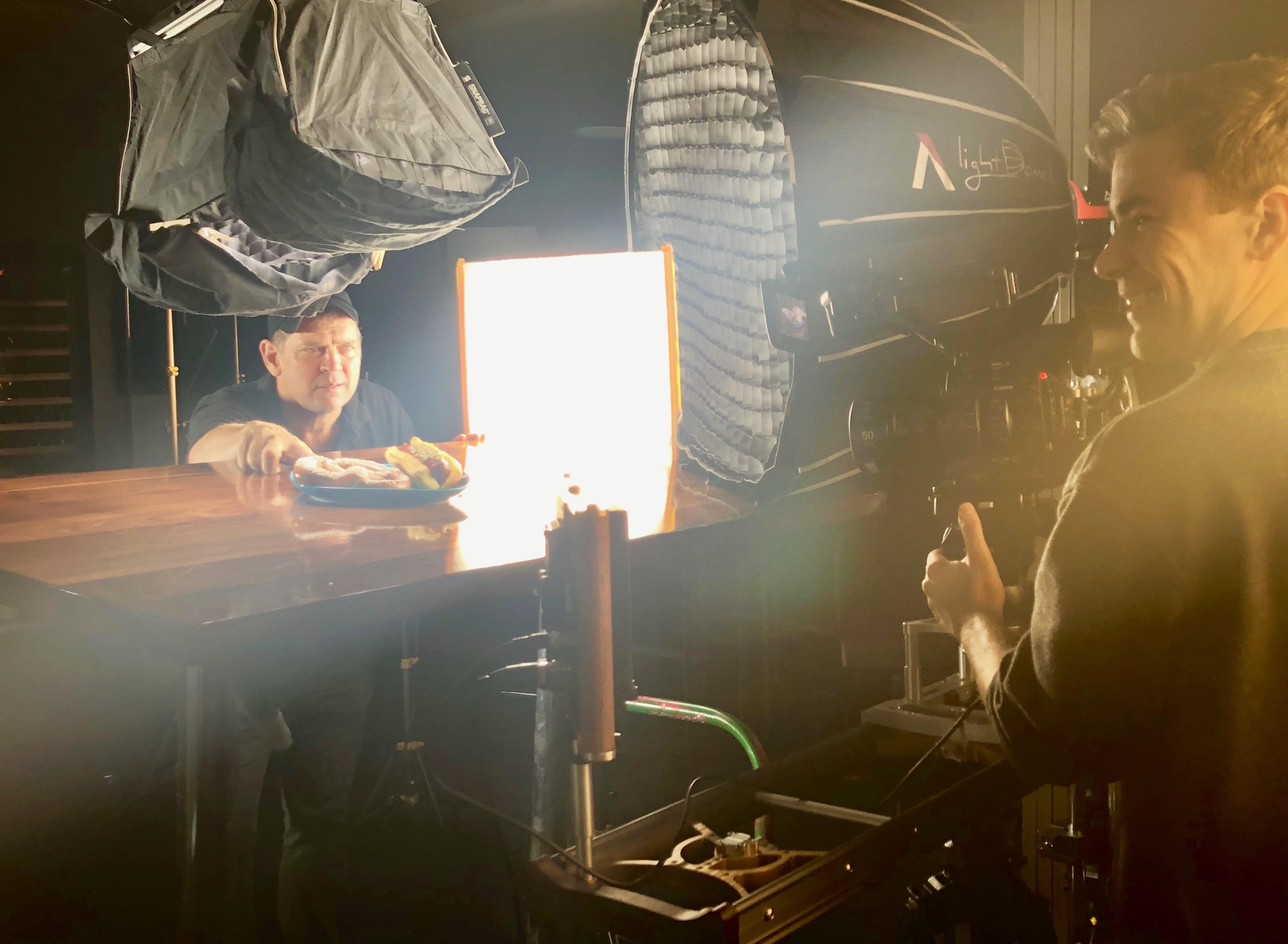 lighting food photography